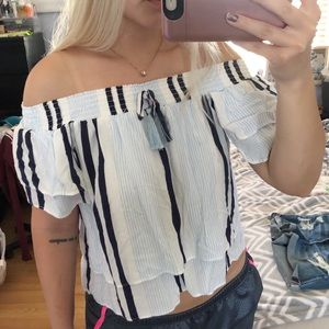 Surf Gypsy Off The Shoulder Top